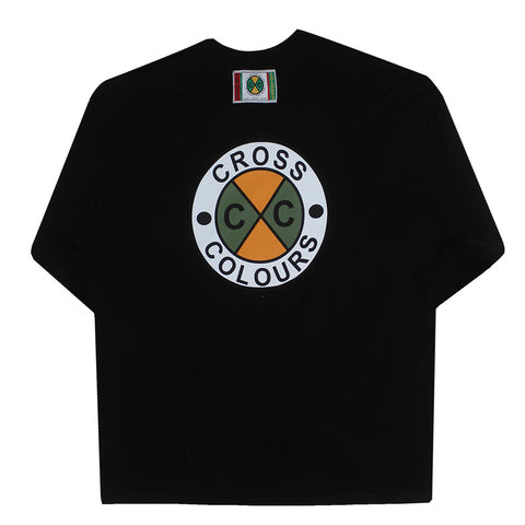 Circle Logo Long Sleeve T-Shirt - Black