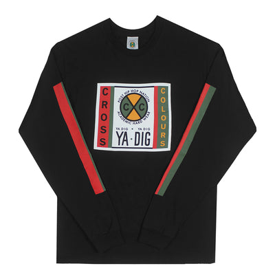 Ya Dig Long Sleeve T-Shirt - Black