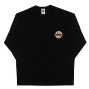 Livin Phat Logo Long Sleeve T-Shirt - Black