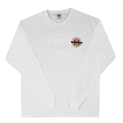 Livin Phat Logo Long Sleeve T-Shirt - White