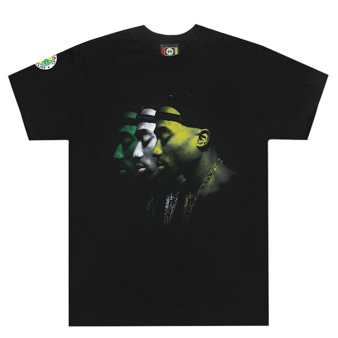 Tupac Transparent T-Shirt - Vintage Black