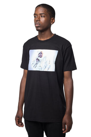 E40 Fur T-Shirt Black