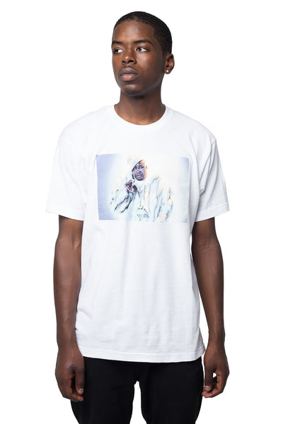 E40 Fur T-Shirt - White