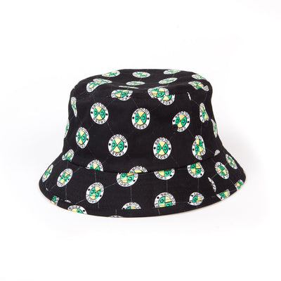Cross Colours Allover Bucket Hat - Black