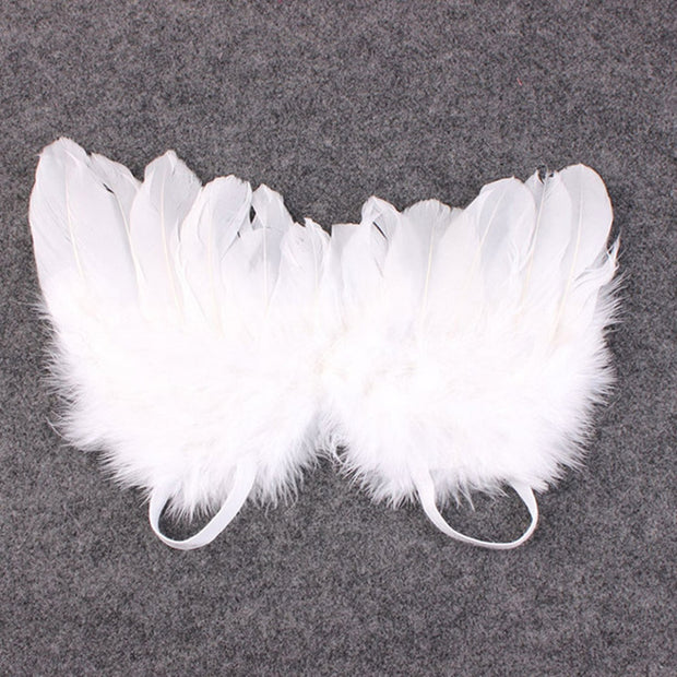 Bestebaby Newborn Photography Props White Angel Wing