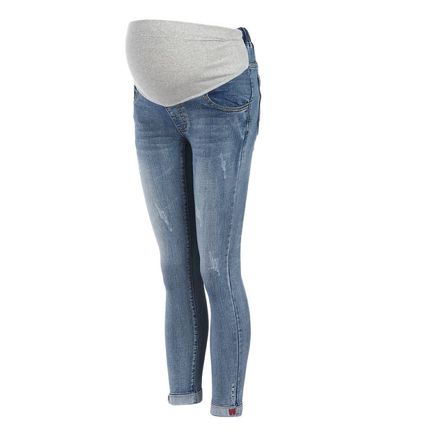 Bestebaby Denim Maternity Long for Pregnant Women - Bestebaby
