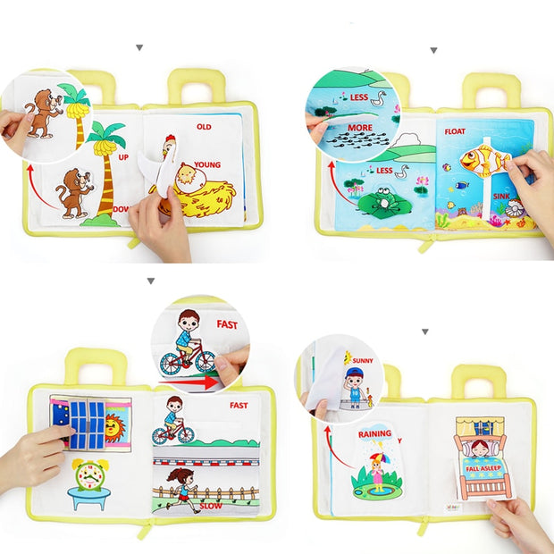 Bestebaby Montessori Toys for Kids 1 Year Old Baby Books Learning Education - Bestebaby