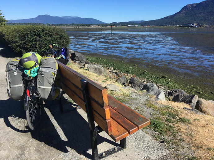 A bike, a tent, and a laptop: planning a cycling trip as a remote worker