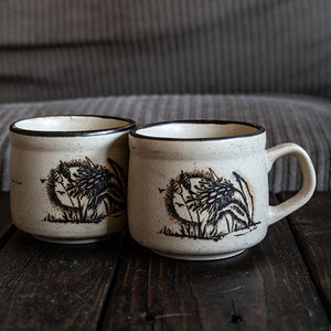 Wild Things Pottery Mug Set