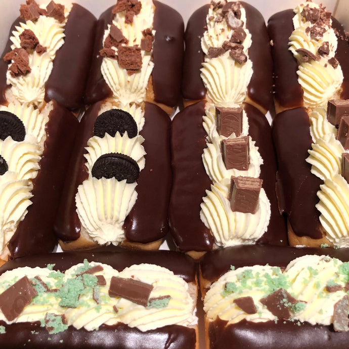 Chocolate Eclairs Box