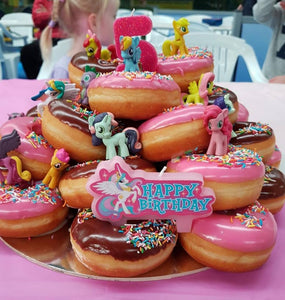Birthday Donuts