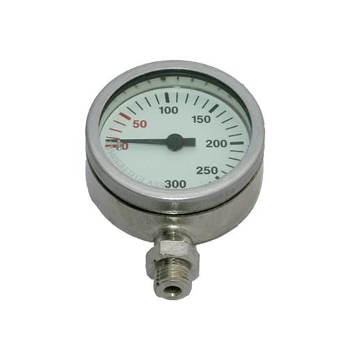 DIRZONE Single Gauge 0-360 DIRZONE 52mm Naked Pressure Gauge - Nickel