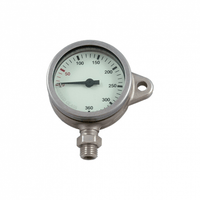 DIRZONE Single Gauge DIRZONE 52mm Naked Pressure Gauge -  Tempered Glass - SNAP