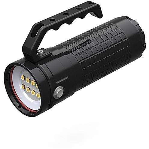 DivePro Handheld Torch Divepro W30 Plus 30.000 Lumen Video Light with Wireless Charging