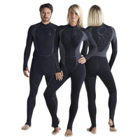 Fourth Element Rash Guard L Fourth Element Hydroskin Mens 1 Piece Suit - Black
