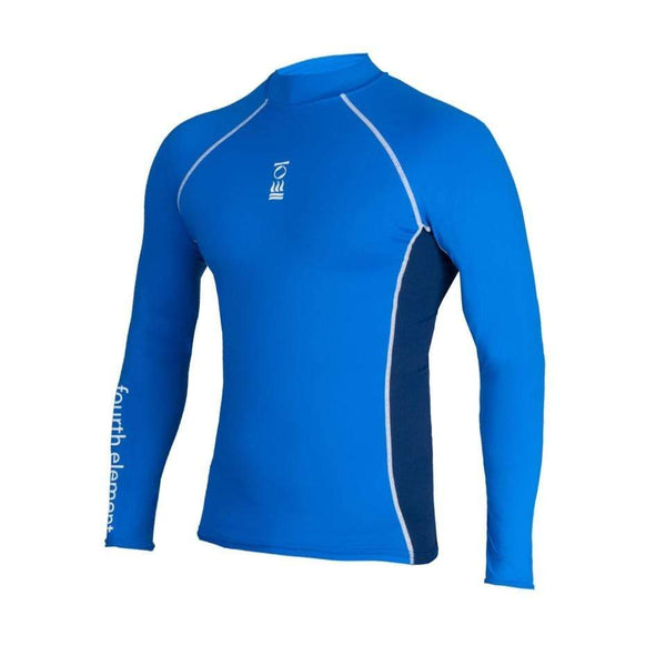 Fourth Element Rash Guard L Fourth Element Hydroskin Mens L/S Top Royal/Navy