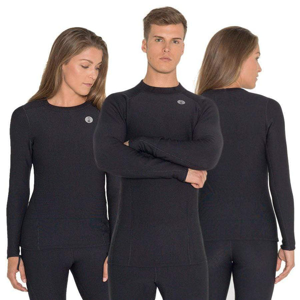 Fourth Element Undersuit L Fourth Element Xerotherm Mens Top Black
