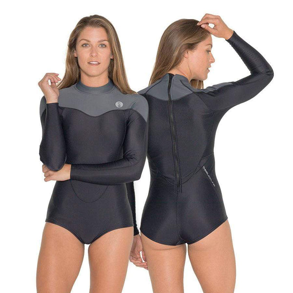 Fourth Element Wetsuit (Women) Fourth Element Thermocline Womens L/S Swimsuit