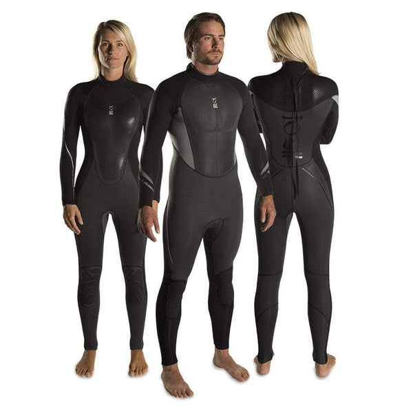 Fourth Element Wetsuits Fourth Element Xenos Womens 5mm Ws Blk/Grey