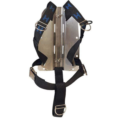 Halcyon Aluminium Backplates Standard / No Halcyon Aluminum hardcoated Backplate and Harness