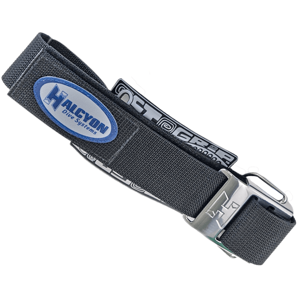 Halcyon Cylinder Band Halcyon Single Tank Strap Replacement with stainless Steel Super Cam Buckle