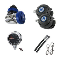 Halcyon Regulator Package Halcyon Complete Single Tank - Long Hose Regulator Set I
