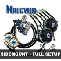 Halcyon Regulator Package HALCYON - Sidemount Regulator Setup