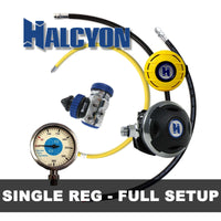 Halcyon Regulator Package HALCYON - Single Regulator Setup