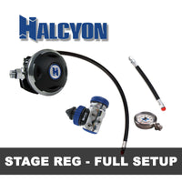 Halcyon Regulator Package HALCYON - Stage Reg Set