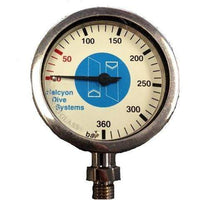 Halcyon Single Gauge Halcyon Master Submersible Pressure Gauge, 0-360 bar