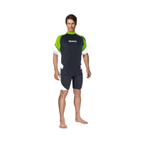 Mares Rash guard (Man) 3XL / Lime Mares Rash Guard Short Sleeve Loose Fit Man