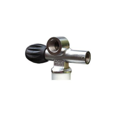 MDE Cylinder Valves Right Handed / With Blanking Plug MDE Modular DIN Valve