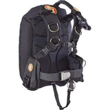 OMS Single Wing Systems XS / Black / No Pockets IQ Lite Performance Mono - Single Tank System - 27LBS