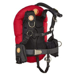 OMS Single Wing Systems XS / Red / No Pockets IQ Lite Performance Mono - Single Tank System - 27LBS