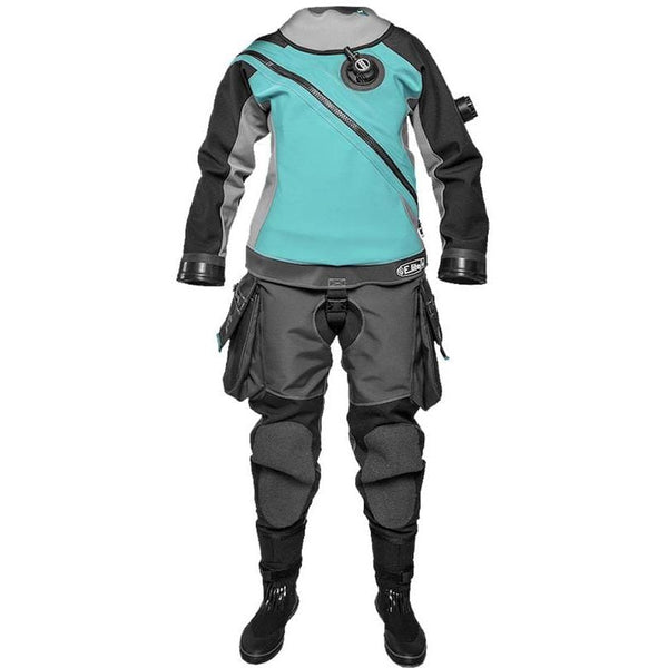 SANTI Drysuit Ladies - XS / Turquoise SANTI E Lite+ Drysuit - LADIES FIRST