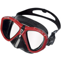 Seac Sub Dual Lens Mask Red Seac Sub - Mask Italia - Black Skirt
