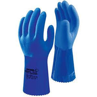 Showa Dry Gloves M(8) Showa 660 - Heavy Duty Blue Dry Glove