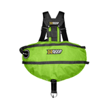 xDeep Sidemount System M - 4 x 1.5kg / Lime xDeep -  Stealth 2.0 Classic Sidemount System