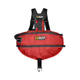 xDeep Sidemount System M - 4 x 1.5kg / Red xDeep -  Stealth 2.0 Classic Sidemount System