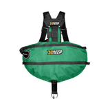 xDeep Sidemount System M - 4 x 1.5kg / SeaGreen xDeep -  Stealth 2.0 Classic Sidemount System