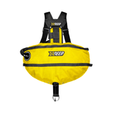 xDeep Sidemount System M - 4 x 1.5kg / Yellow xDeep -  Stealth 2.0 Classic Sidemount System