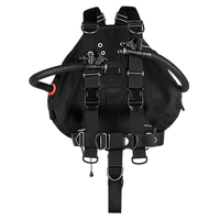 xDeep Sidemount System xDeep -  Stealth 2.0 REC Sidemount System - Redundant Bladder Edition