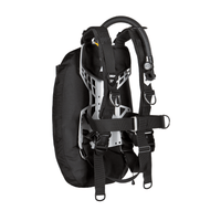 xDeep Single Wing Systems xDeep -  ZEN Single Wing System - Deluxe Harness