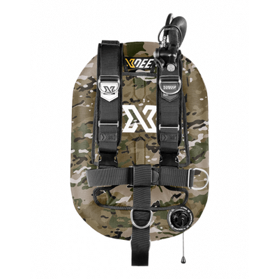 xDeep Single Wing Systems Ali / 28 / CAMO xDeep -  ZEOS Single Wing System - Deluxe Harness
