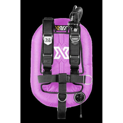 xDeep Single Wing Systems Ali / 28 / LAVENDER xDeep -  ZEOS Single Wing System - Deluxe Harness