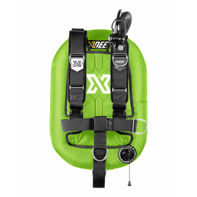 xDeep Single Wing Systems Ali / 28 / LIME xDeep -  ZEOS Single Wing System - Deluxe Harness