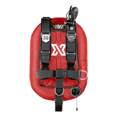 xDeep Single Wing Systems Ali / 28 / RED xDeep -  ZEOS Single Wing System - Deluxe Harness