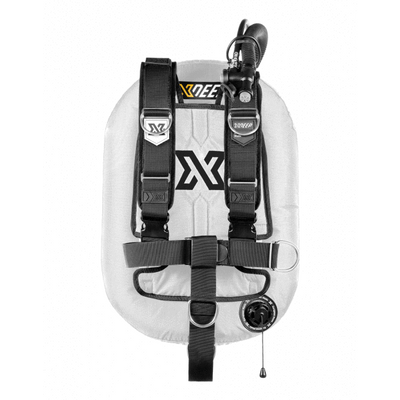 xDeep Single Wing Systems Ali / 28 / WHITE xDeep -  ZEOS Single Wing System - Deluxe Harness