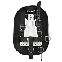 xDeep Single Wing Systems Ali / 28 / Black xDeep -  ZEOS Single Wing System - Standard Harness