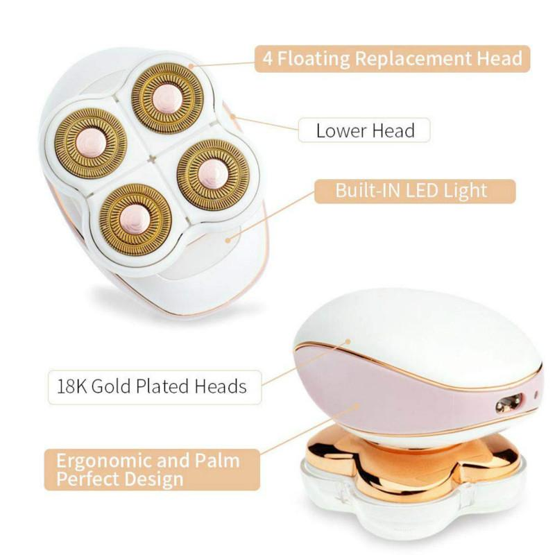 Kit Removedor Depilador de Pelos Facial e Corporal ndolor Retratta Gold Be Emotion Design
